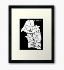 Kaprijke Wit Framed Print