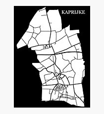 Kaprijke Wit Photographic Print