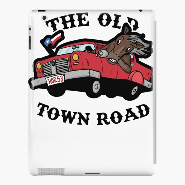 The Old Town Road iPad Snap Case