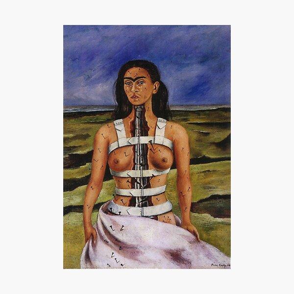 The Broken Column by Frida Kahlo Photographic Print