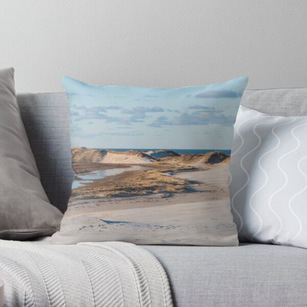 Dune changing the entire landscape Throw Pillow