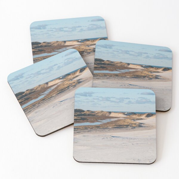 Dune changing the entire landscape Coasters (Set of 4)
