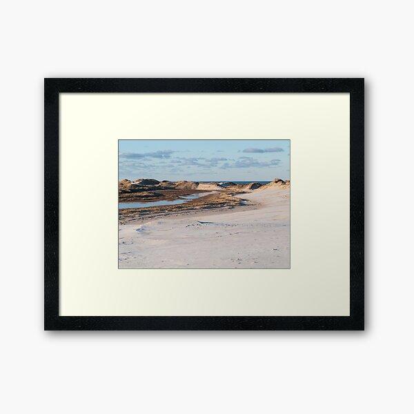 Dune changing the entire landscape Framed Art Print