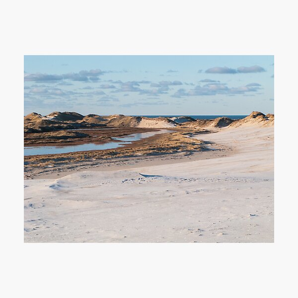 Dune changing the entire landscape Photographic Print