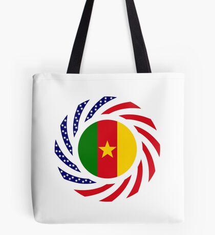 Cameroon American Multinational Patriot Flag Series 1.0 Tote Bag