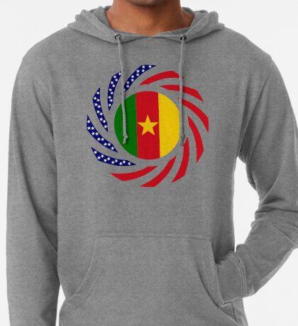Cameroon American Multinational Patriot Flag Series 1.0 Lightweight Hoodie