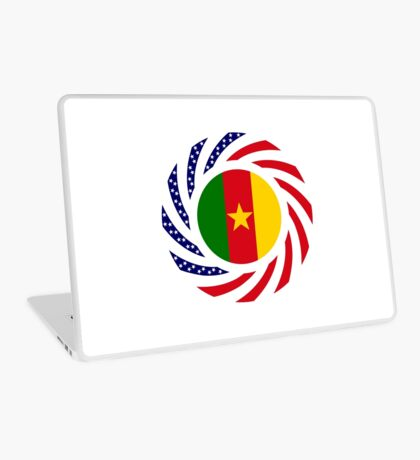 Cameroon American Multinational Patriot Flag Series 1.0 Laptop Skin