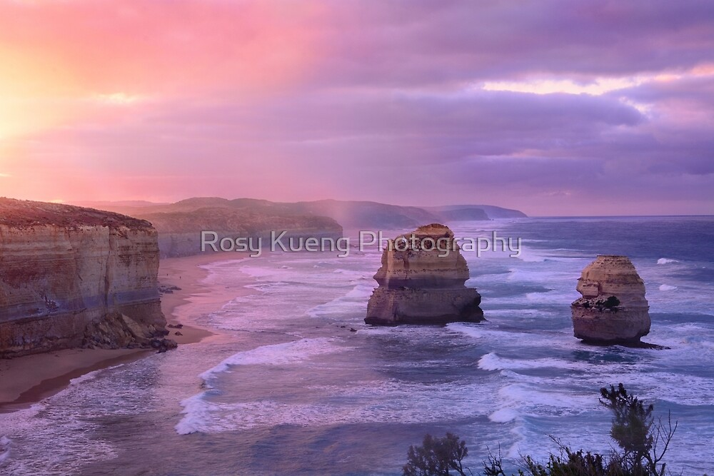 Sunrise at Gibson's Step by Rosy Kueng Photography