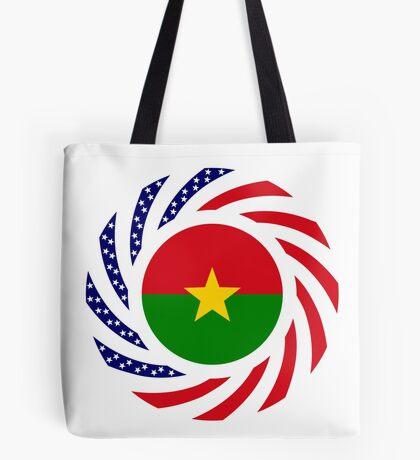 Burkina Faso American Multinational Patriot Flag 1.0 Tote Bag