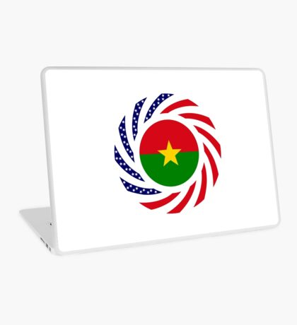 Burkina Faso American Multinational Patriot Flag 1.0 Laptop Skin