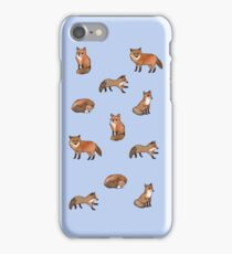 Foolish Foxes iPhone Case/Skin