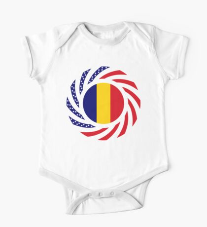 Chad American Multinational Patriot Flag Series Kids Clothes