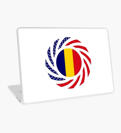 Chad American Multinational Patriot Flag Series Laptop Skin