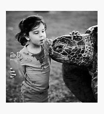 Hello turtle Photographic Print