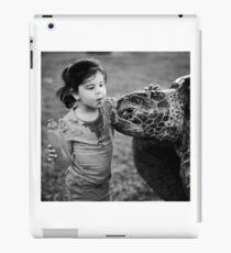 Hello turtle iPad Case/Skin