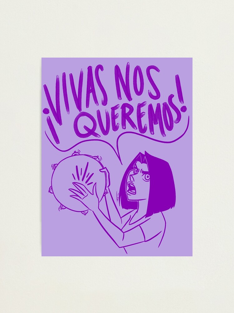 Alternate view of VIVAS NOS QUEREMOS Photographic Print