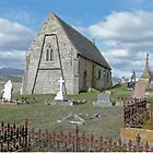 St Mary's Church, Gretna, Tasmania by Margaret  Hyde