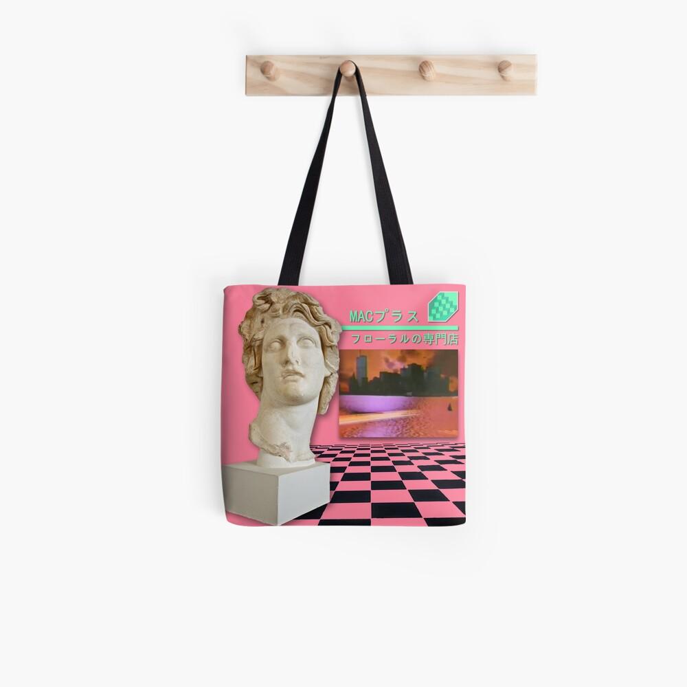 Floral Shoppe Macintosh Plus Bolsa de tela