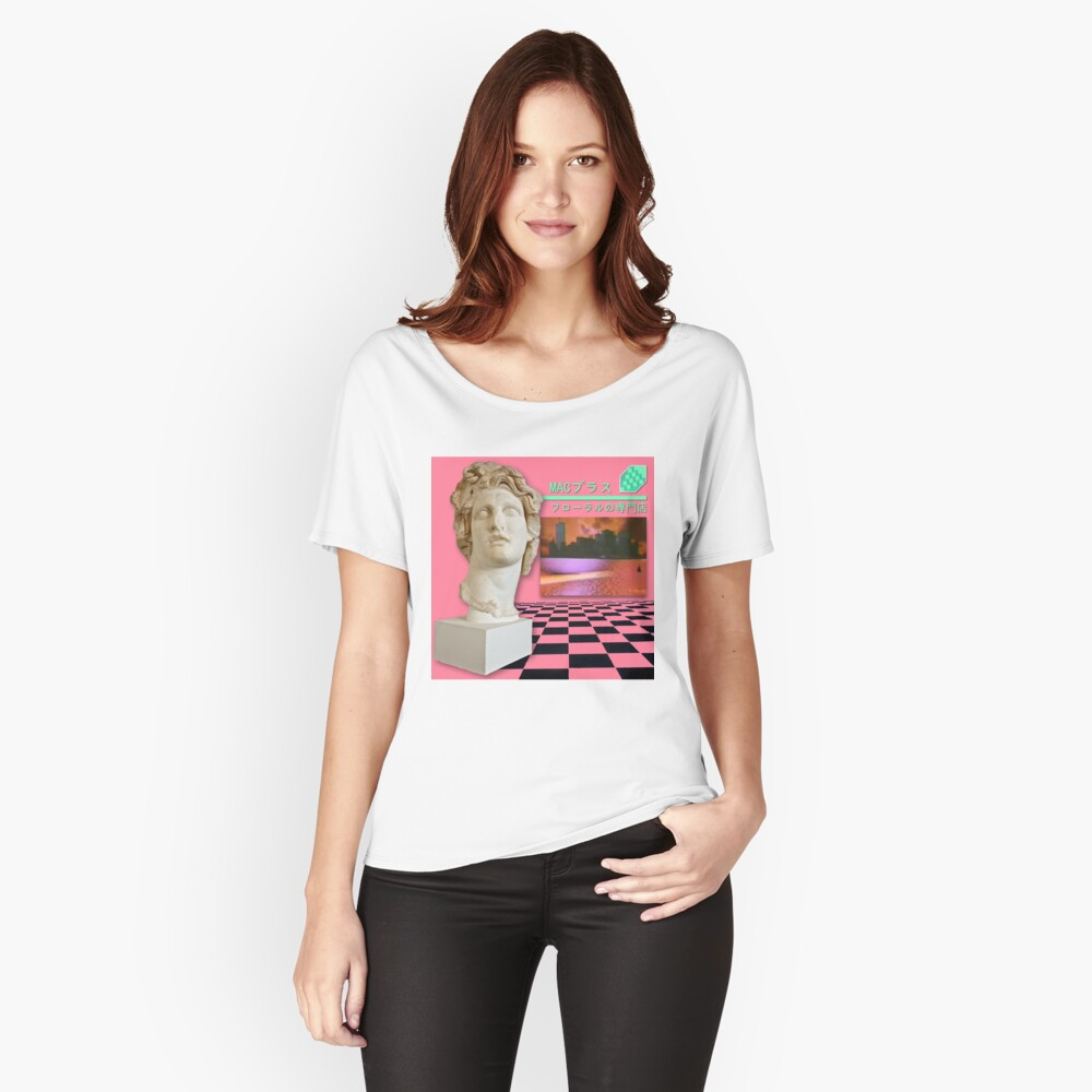 Floral Shoppe Macintosh Plus Camiseta ancha