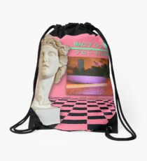 Floral Shoppe Macintosh Plus Drawstring Bag