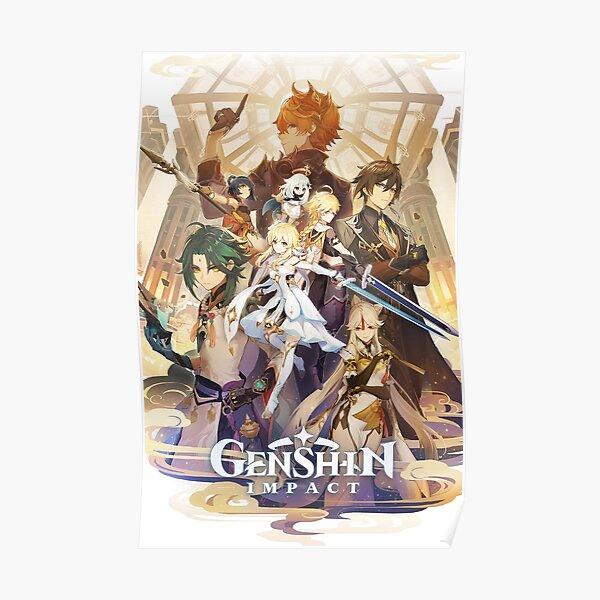 Animación Genshin Impact Póster