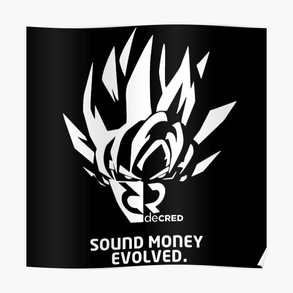 Decred sound money evolved v1 Poster