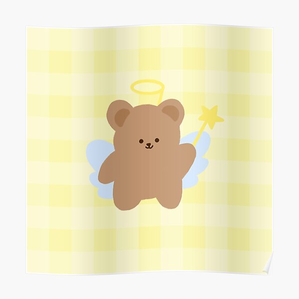 Little Angel Bear Poster