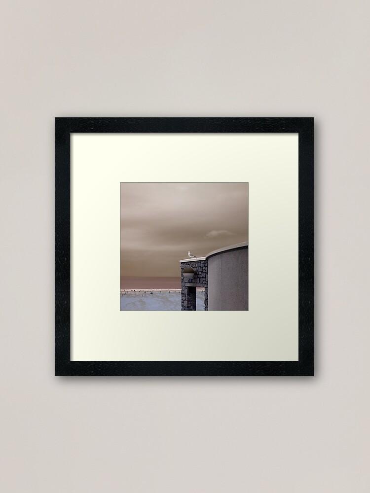 Alternate view of Tate St. Ives, Cornwall Framed Art Print