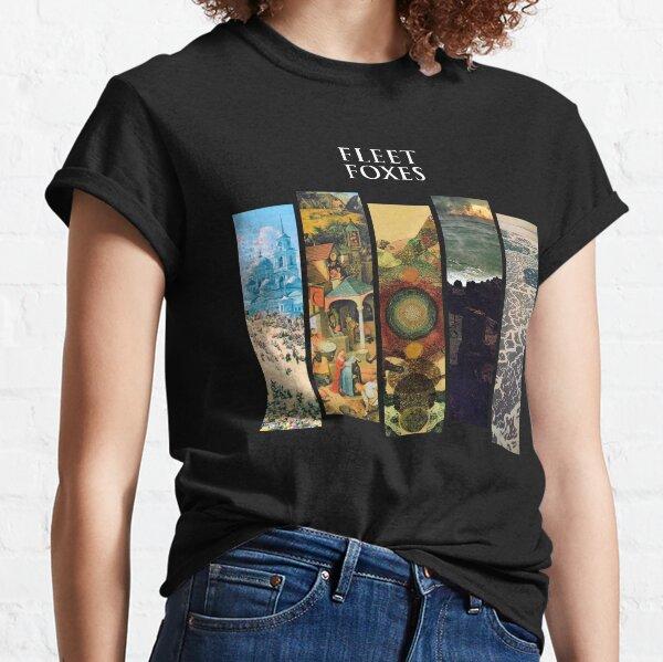 Fleet Foxes - Album Discography Series Classic T-Shirt