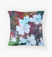 Malus Domestica Throw Pillow