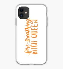Fire-Breathing Bitch-Queen iPhone Case