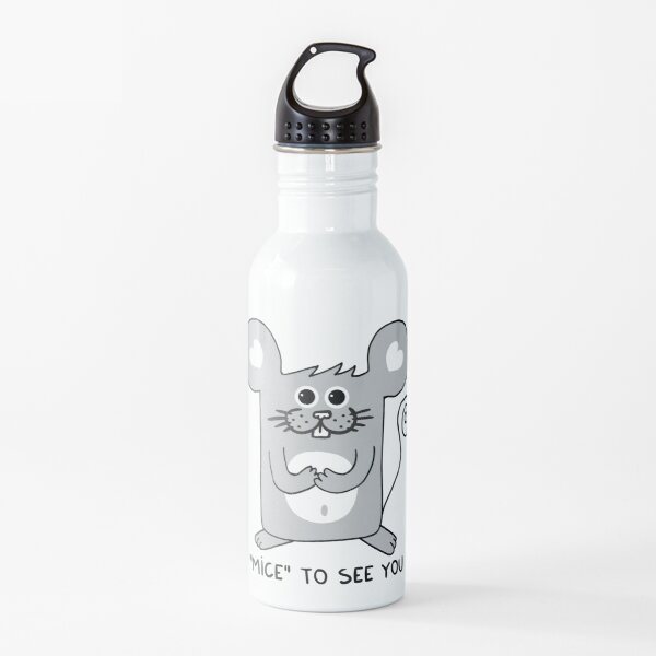 MICE to see you Water Bottle