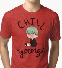 Chill Min Yoongi Tri-blend T-Shirt