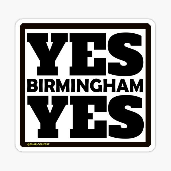Yes Birmingham Yes Sticker