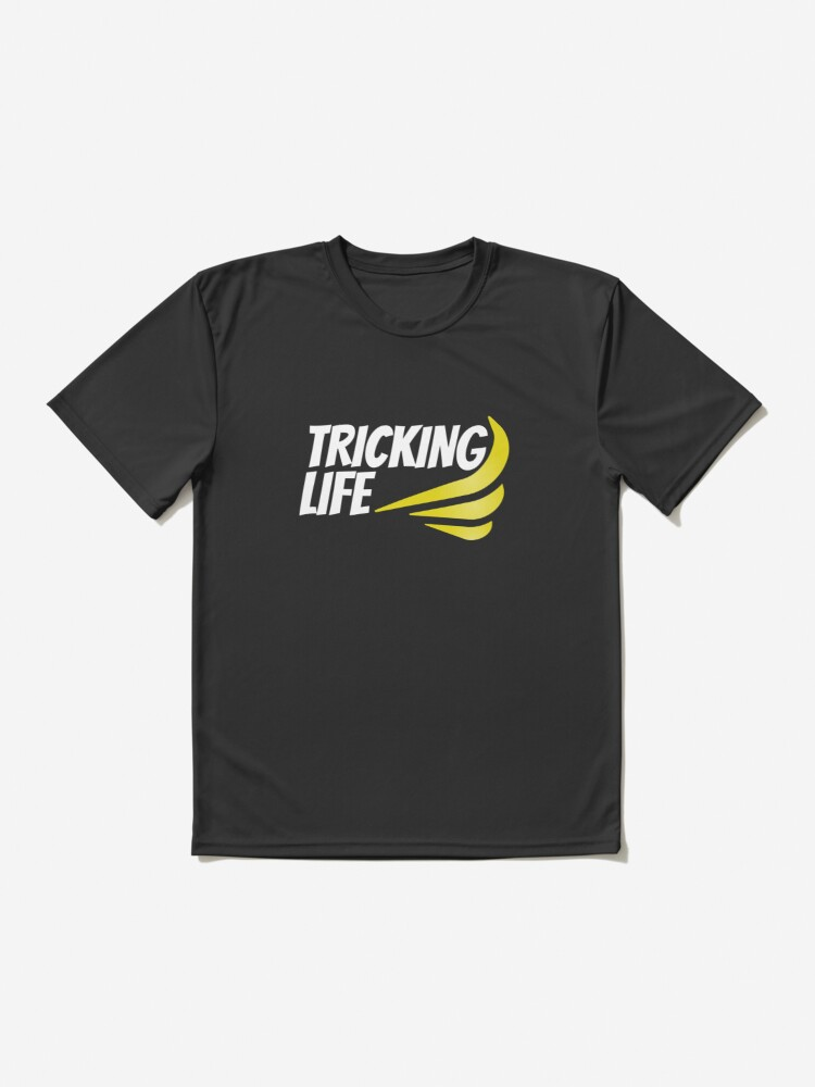 Alternate view of Tricking Life  Active T-Shirt
