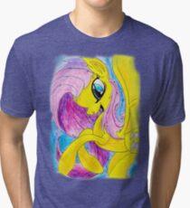 Flutterbat Tri-blend T-Shirt