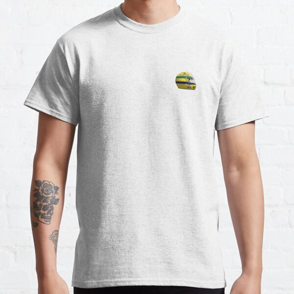 Ayrton Senna 1988 Helmet Classic T-Shirt