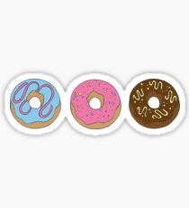 Donut-Sorge Sticker