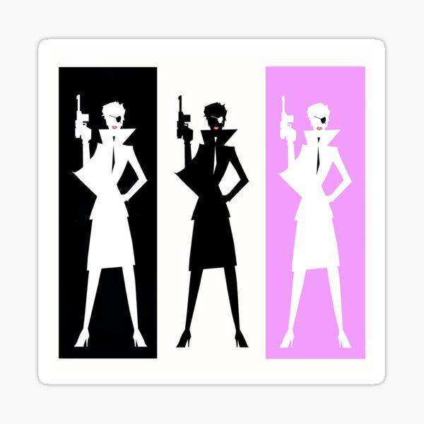 Fashion In Action Warhol Sticker