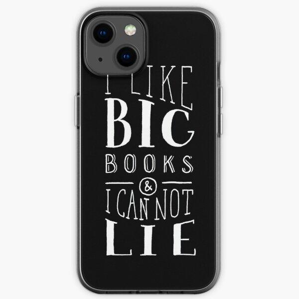I Like Big Books (Black) iPhone Soft Case