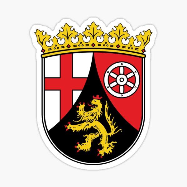 Tablecloth der Rheinland-Pfalz Sticker