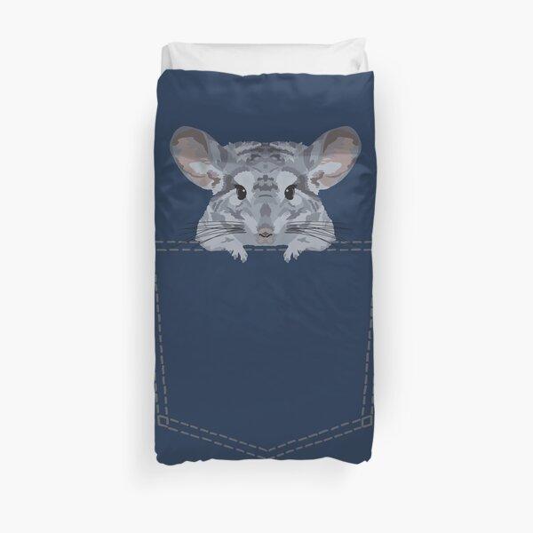 Pocket Chinchilla Duvet Cover