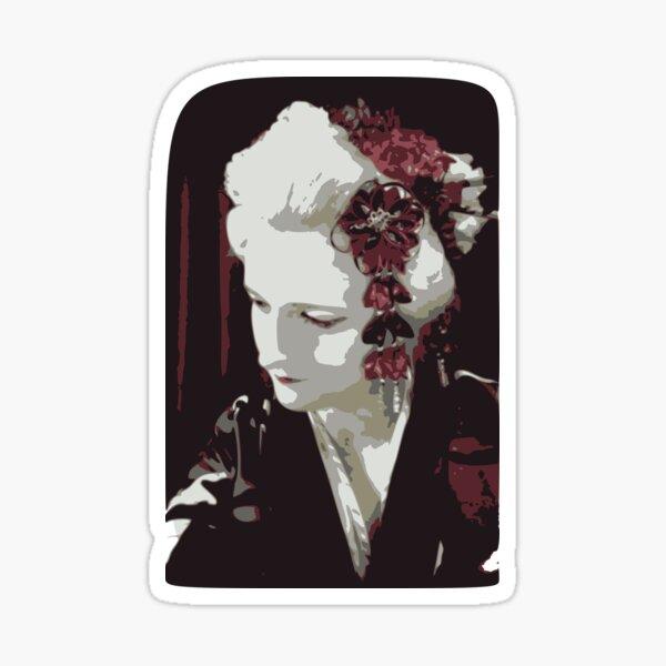 submissive Geisha Sticker