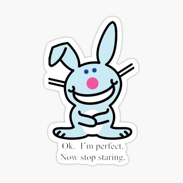 Happy bunny Sticker