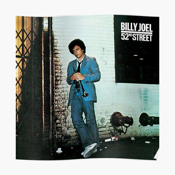 billy joel 52 street 2021 siodok Poster