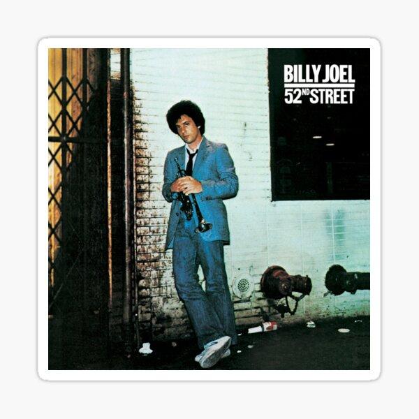 billy joel 52 street 2021 siodok Sticker