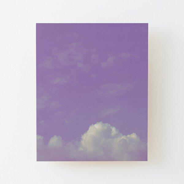 Purple Sky #2 Wood Mounted Print