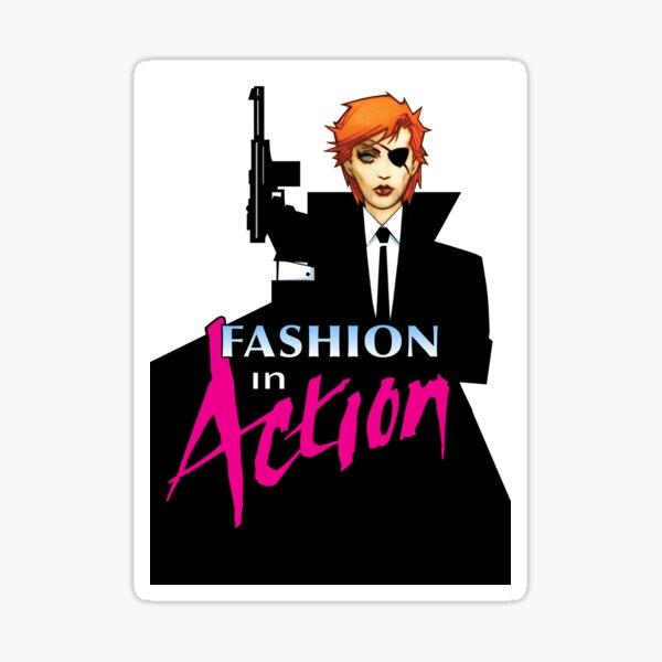 Fashion In Action Icon Sticker