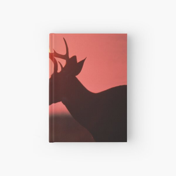 Buck Whitetail Deer Hardcover Journal