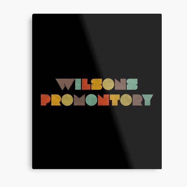 Wilsons Promontory Vintage Metal Print